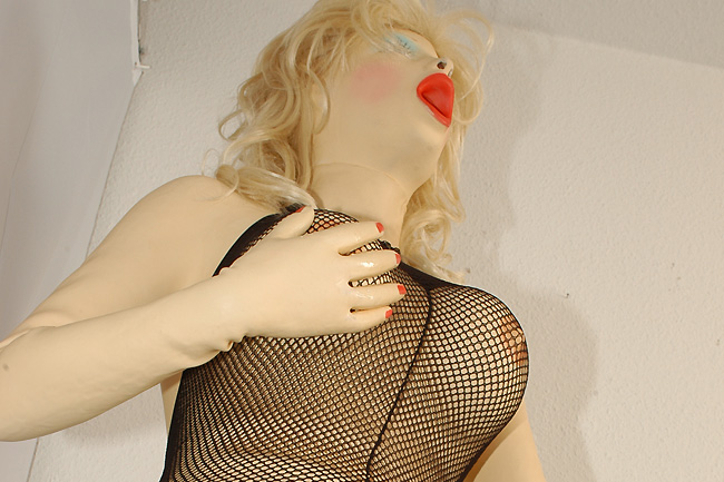 Bodystocking and Dildo
